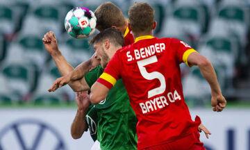 Bundesliga: «Άσφαιρες» Βόλφσμπουργκ και Λεβερκούζεν (highlights)!