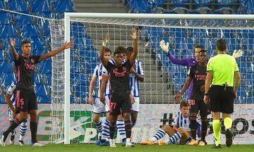 La Liga: «Λευκή» ισοπαλία στο «Ανοέτα» με Ρεάλ Σοσιεδάδ για Ρεάλ Μαδρίτης  (highlights)