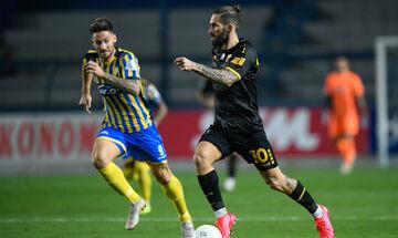 Παναιτωλικός-ΑΕΚ 0-2: Τα highlights της αναμέτρησης