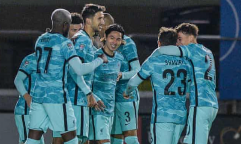 League Cup Αγγλίας:  Δείτε τον Τσιμίκα στο Λίβερπουλ-Λίνκολν 7-2! (vid)