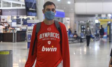 Ολυμπιακός: Αναχώρησε για το Βερολίνο η ομάδα μπάσκετ (pics)
