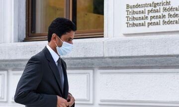 Η εισαγγελία της Ελβετίας ζήτησε τη φυλάκιση του προέδρου της Παρί Σ.Ζ. Νασέρ Αλ Κελαϊφί!