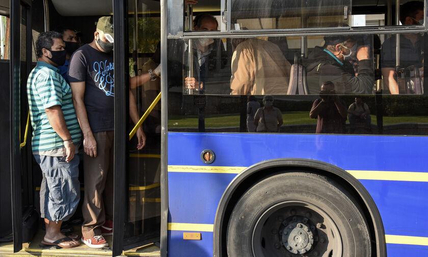 Η… πανδημία στα μέσα μεταφοράς