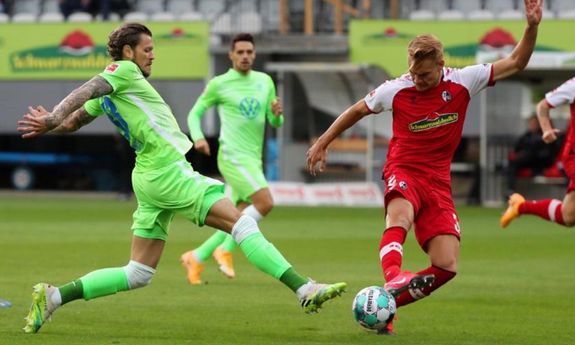 Φράιμπουργκ-Βόλφσμπουργκ 1-1: Έχασε βαθμούς και παίκτες η αντίπαλος της ΑΕΚ (highlights)