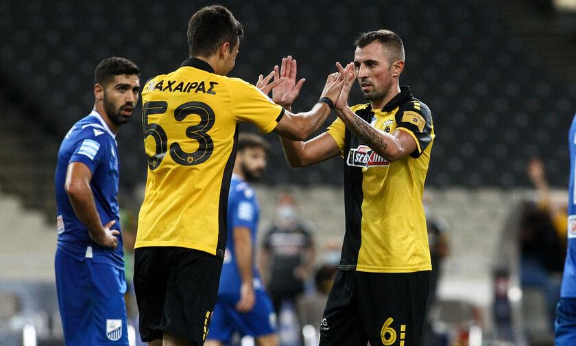ΑΕΚ-Λαμία: Σκόραρε ο Κρίστιτσιτς για το 2-0 (vid)