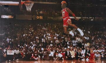 1988: Ο Μάικλ Τζόρνταν... πετάει στον διαγωνισμό καρφωμάτων (vid)