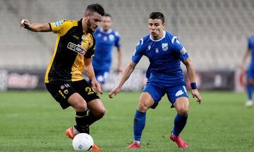 AEK - Λαμία 3-0: Τα highlights της αναμέτρησης