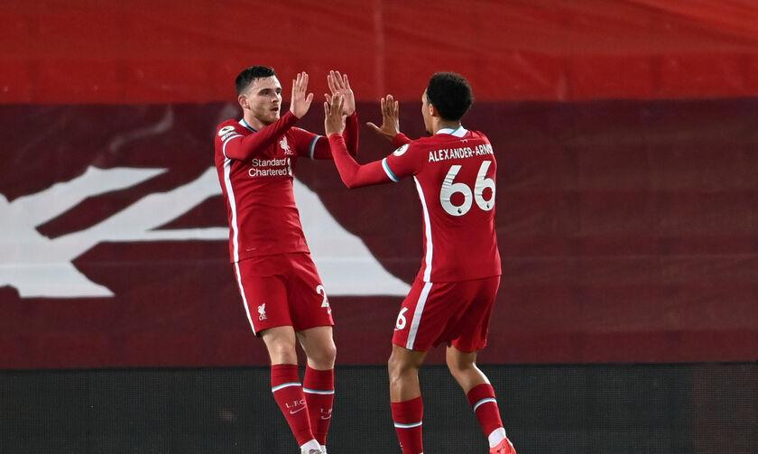 Λίβερπουλ-Άρσεναλ: Τα τρία γκολ για το 2-1 των «κόκκινων» στο ημίχρονο (vid)