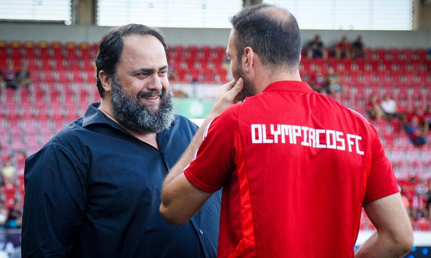 Ομόνοια - Ολυμπιακός: Ο Μαρινάκης στο ΓΣΠ με Τοροσίδη! (pic, vid)