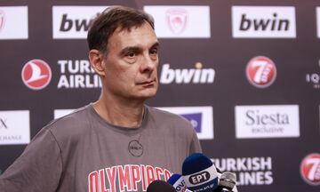 Γιώργος Μπαρτζώκας: «Θέλουμε να παίξουμε με ταχύτητα, έχουμε κίνητρο»