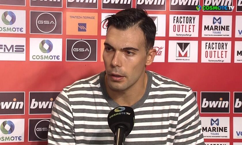 O Σλούκας εξήγησε τον λόγο που επέστρεψε στον Ολυμπιακό και αναφέρθηκε στον ρόλο του ηγέτη (vid)