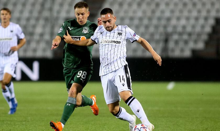 Τα highlights του ΠΑΟΚ - Κράσνονταρ 1-2 (vid)