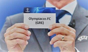 LIVE: H κλήρωση του Ολυμπιακού στους ομίλους του Champions League