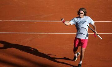 Live Streaming - Roland Garros: Τσιτσιπάς-Κουέβας