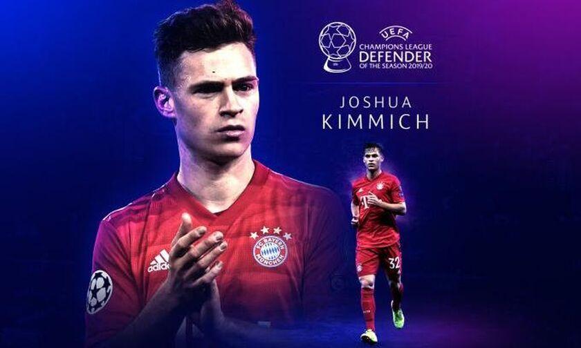Κίμιχ: Καλύτερος αμυντικός του περασμένου Champions League!
