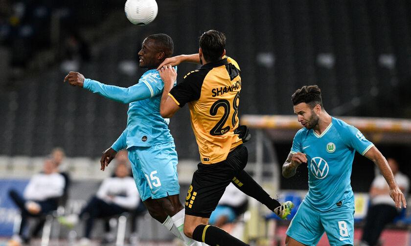 ΑΕΚ - Βόλφσμπουργκ: Άνοιξε το σκορ η γερμανική ομάδα (0-1)