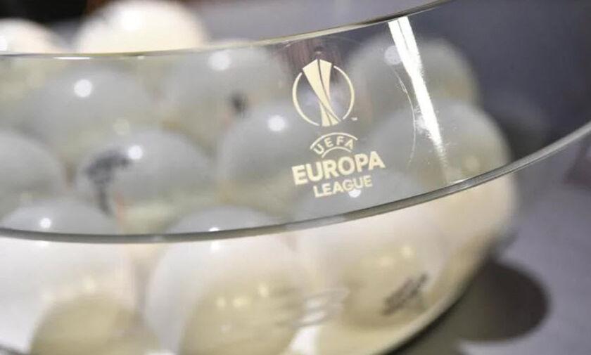 LIVE Streaming - Κλήρωση Europa League: ΠΑΟΚ και ΑΕΚ μαθαίνουν τους αντιπάλους τους