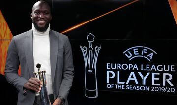 Europa League: Κορυφαίος παίκτης της περσινής σεζόν ο Ρομέλου Λουκάκου (vid)