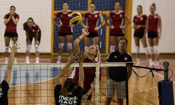 Φιλική νίκη του ΠΑΟΚ επί του Ολυμπιακού χωρίς τη Στέλλα Χριστοδούλου (pics)