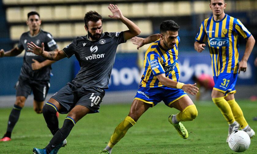 Παναιτωλικός - Αστέρας Τρίπολης 1-1: Πήραν τον βαθμό με παίκτη λιγότερο οι γηπεδούχοι (highlights)