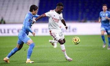 Ligue 1:  «Όρθια» η Μαρσέιγ, 1-1 με την Λιόν (highlights)