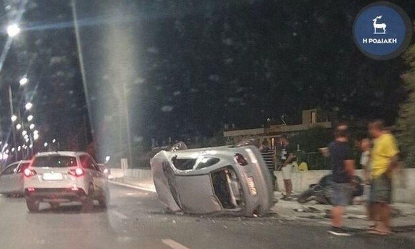 Ρόδος: Πήγε να βοηθήσει σε τροχαίο και σκοτώθηκε από διερχόμενο αυτοκίνητο (vid)