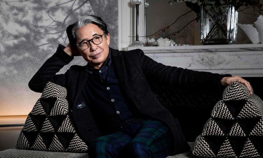 Πέθανε από κορονοϊό ο διάσημος Ιάπωνας σχεδιαστής Kenzo