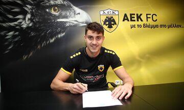 Νεντελτσιάρου: «Να παλέψω για τρόπαια και να παίξω στο Europa League με την ΑΕΚ»