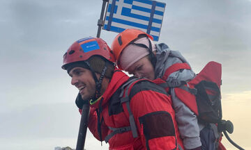 Μάριος Γιαννάκου: Κατέκτησε τον Όλυμπο με την Ελευθερία στην πλάτη του! (pic)