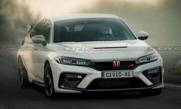 Έτσι θα είναι το νέο Honda Civic Type R