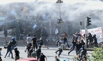 Η ΕΛ.ΑΣ για τα επεισόδια στο Εφετείο - ΕΔΕ σε βάρος αστυνομικού μετά από καταγγελίες του Βαρουφάκη