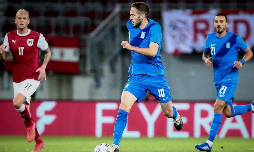 Αυστρία - Ελλάδα 2-1: Κατέρρευσε μετά την ισοφάριση
