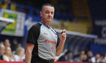 Αναστόπουλος: Σφυρίζει ξανά στην Basket League μετά από απόφαση της ΕΟΚ