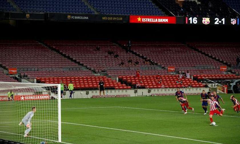 Ισπανία: Χωρίς θεατές στα γήπεδα έως το τέλος του έτους