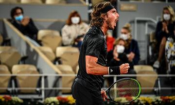Roland Garros: Ήττα στις λεπτομέρειες για Τσιτσιπά, στον τελικό ο Τζόκοβιτς (highlights)