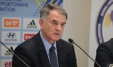 Αποχωρεί ο Μπάγεβιτς από την εθνική Βοσνίας