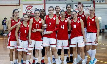 Πάνθηρες Καβάλας - Ολυμπιακός 37-121: Φανταστικό ξεκίνημα με 2 τρελά ρεκόρ τα κορίτσια του Θρύλου!