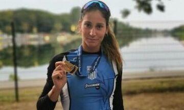 Στην τρίτη θέση του βάθρου και η Αννέτα Κυρίδου στο Ευρωπαϊκό Πρωτάθλημα Κωπηλασίας