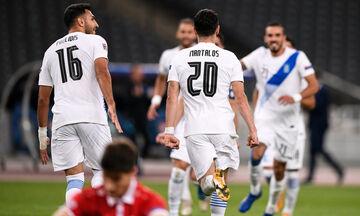 Ελλάδα - Μολδαβία: Γκολ ο Μάνταλος και 2-0 η Εθνική! (vid)
