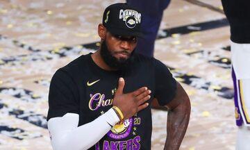 NBA: Πρωταθλητής και στο top 10 ο Τζέιμς (vid)