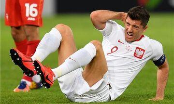 Τραυματίας ο Λεβαντόφσκι, ανησυχία στη Μπάγερν