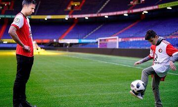 Το εντυπωσιακό γκολ του 13χρονου γιου του Φαν Πέρσι, Σακίλ (vid)
