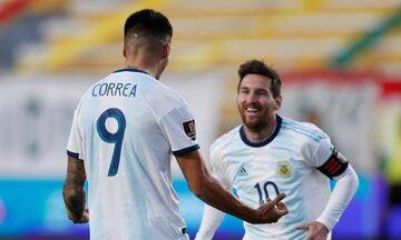 Προκριματικά Παγκοσμίου Κυπέλλου: Δύο στα δύο για Βραζιλία, Αργεντινή (vid)