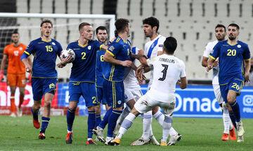 Ελλάδα-Κόσοβο 0-0: Πιάστηκαν στα χέρια Μπουχαλάκης και Χασάνι! (vid)