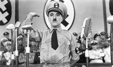 O «βωβός» Tσάρλι Τσάπλιν μίλησε πρώτη φορά ως Αδόλφος Χίτλερ