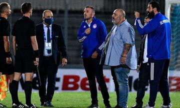 SuperLeague: Τετράμηνη απαγόρευση εισόδου σε αγωνιστικούς χώρους στον Κώστα Καραπαπά
