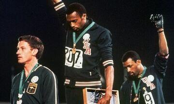 Οι ολυμπιονίκες ήρωες με τα μαύρα γάντια!