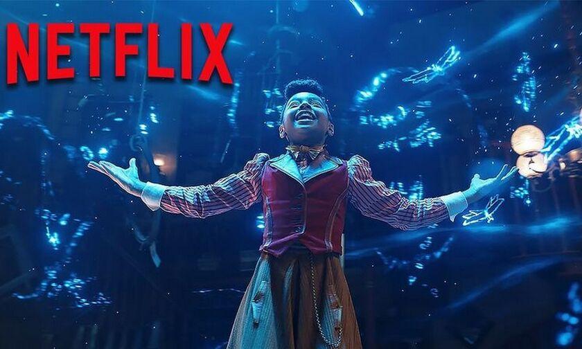 Netflix: Μια παραμυθένια Χριστουγεννιάτικη ιστορία ξεπηδά στο Netflix με το Jingle Jangle (vid)