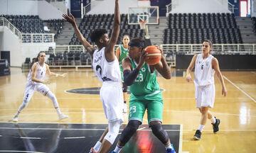 Α1 γυναικών μπάσκετ: Ο ΠΑΟΚ με το δεξί, 76-72 τον Παναθηναϊκό!