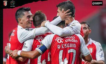 Μπράγκα: Κέρδισε 2-1 τη Νασιονάλ και περιμένει την ΑΕΚ (vid)
